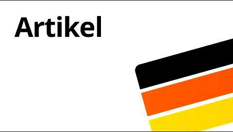 Артиклі німецької мови