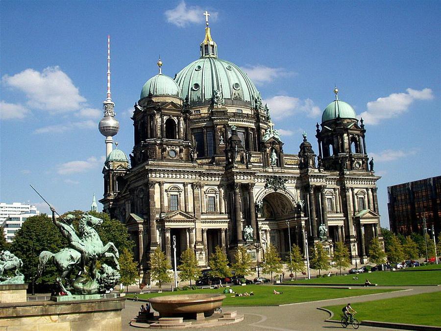 Берлінський кафедральний собор Berliner Dom