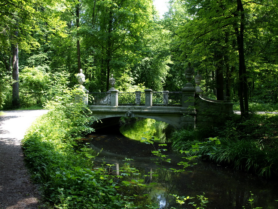 Парк Палацу Німфенбург, Мюнхен