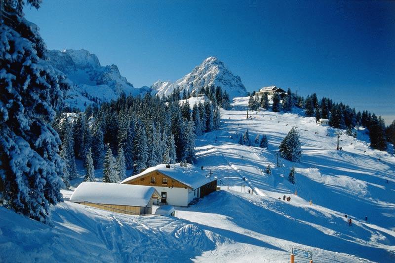 Гарміш-Партенкірхен, Баварські Альпи, Німеччина